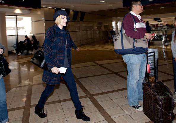 More Pics of Evan Rachel Wood Newsboy Cap (1 of 16) - Evan Rachel Wood Lookbook - StyleBistro