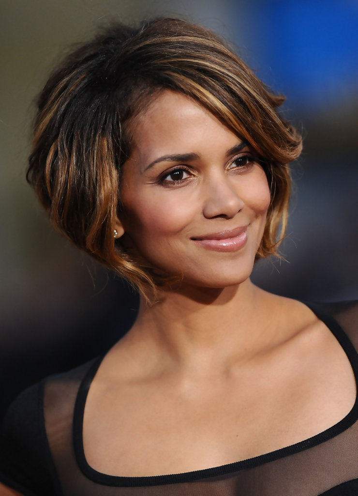 Halle Berry Hairstyles For Oval Faces Stylebistro