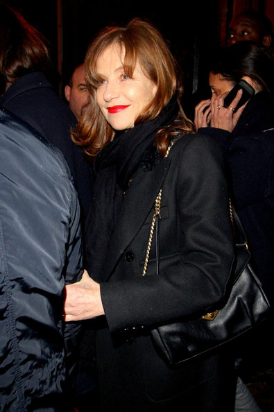 More Pics of Isabelle Huppert Red Lipstick (1 of 1) - Isabelle Huppert Lookbook - StyleBistro