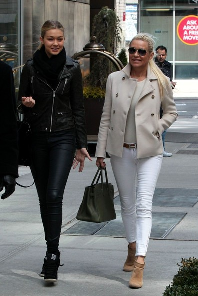 More Pics of Yolanda Foster Pea Coat (1 of 8) - Pea Coat Lookbook - StyleBistro