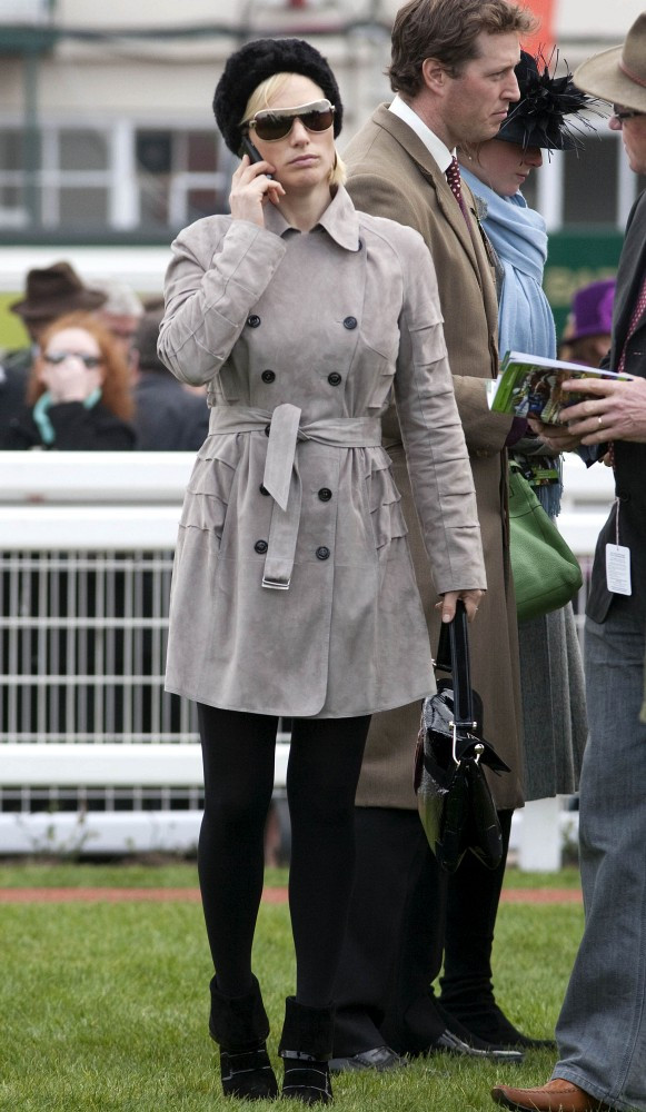 Warm Fuzzy The Royal Style Of Zara Phillips Stylebistro