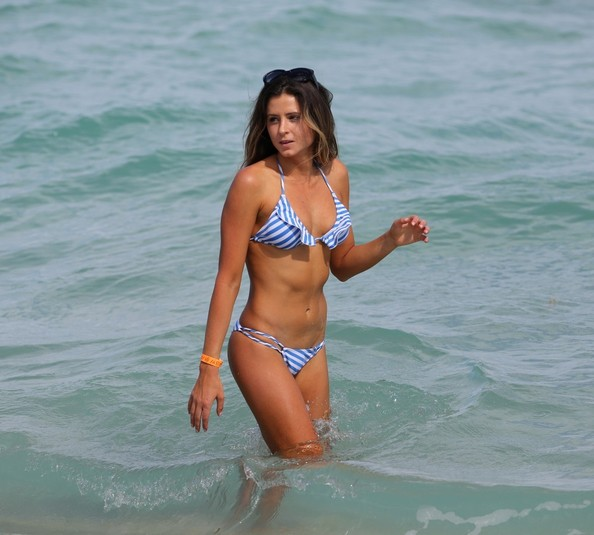 More Pics of Anastasia Ashley String Bikini (1 of 6) - Anastasia Ashley Lookbook - StyleBistro