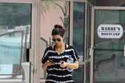 FOR USA SALES: Contact Randy Bauer (310) 910-1113 bauergriffinsales@gmail.com.FOR UK SALES: Contact Caroline 44 207 431 1598 MUST BYLINE: EROTEME.CO.UK.Kim Kardashian leaving the bootcamp in Hollywood.