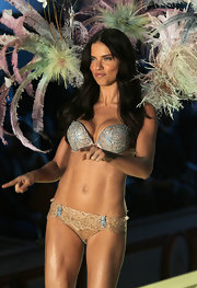 Supermodel Adriana Lima rocks the runway at the Victoria's Secret Runway Show.
