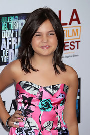 Bailee Madison wore her hair down at the L.A. premiere of 'Don't Be Afraid of the Dark'.