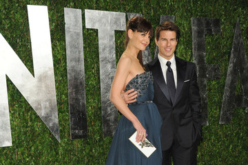 Katie Holmes Tom Cruise The 2012 Vanity Fair Oscar Party 2
