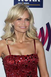 Kristin Chenoweth wowed at the Annual GLAAD Media Awards in sparkling teardrop earrings.