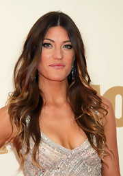 Jennifer Carpenter accessorized with a stunning pair of graduating marquise diamond earrings.