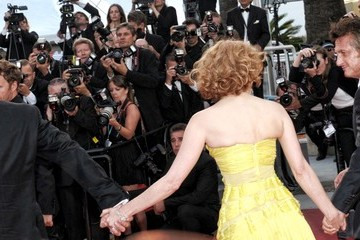"Brad Pitt Jessica Chastain 64th Annual Cannes Film Festival - ""The Tree Of Life"" Premiere 2"