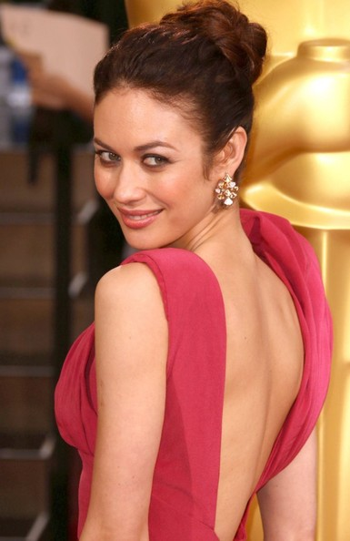 More Pics of Olga Kurylenko Hair Knot (2 of 2) - Olga Kurylenko Lookbook - StyleBistro