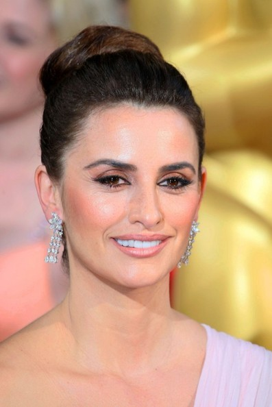 More Pics of Penelope Cruz Classic Bun (1 of 2) - Updos Lookbook - StyleBistro