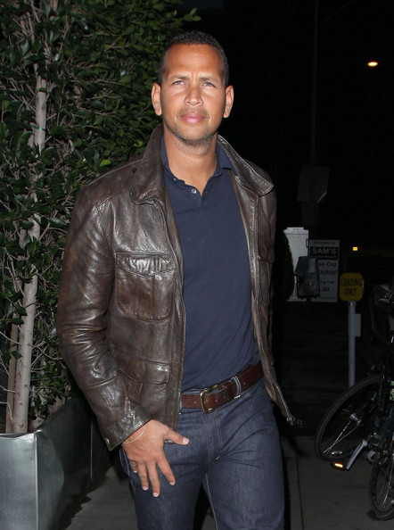 Alex Rodriguez Leather Jacket