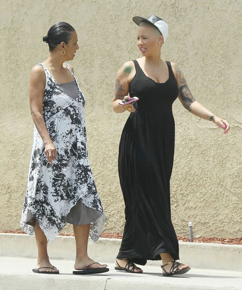 More Pics of Amber Rose Maxi Dress (1 of 21) - Amber Rose Lookbook - StyleBistro