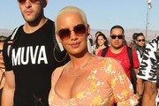 Amber Rose Oversized Sunglasses