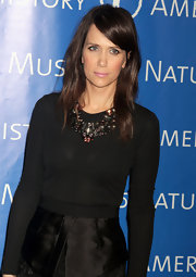 Kristen Wiig wore a new dark 'do at the American Museum of Natural History's Annual Gala.