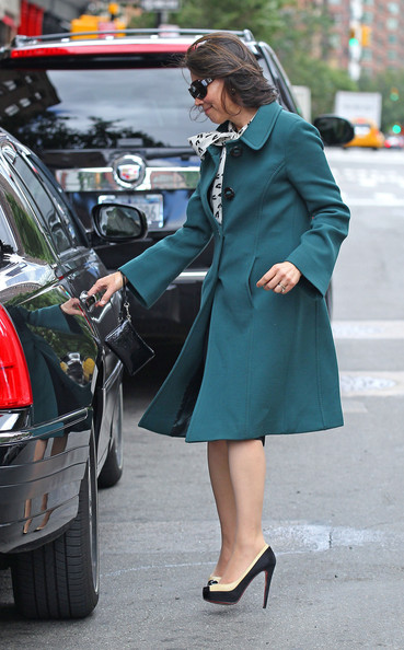 More Pics of Ann Curry Wool Coat (1 of 8) - Ann Curry Lookbook - StyleBistro