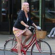 In a Skirt and Cardigan Like Food Network Chef Anne Burrell
