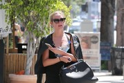 Ashlee Simpson Leather Jacket