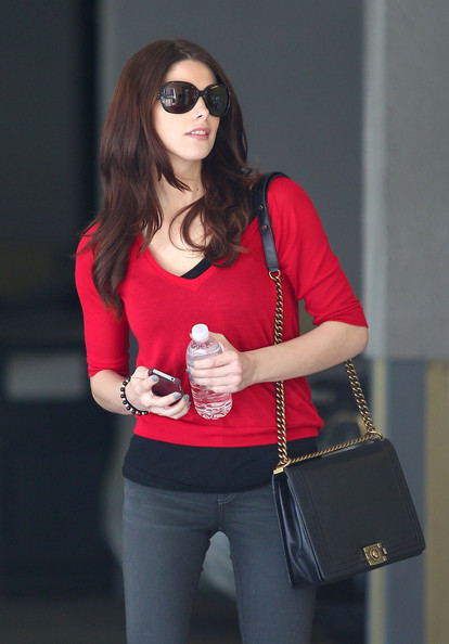 Ashley Greene V-neck Sweater