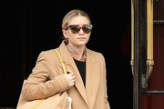 Ashley Olsen Wool Coat