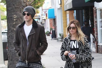 Ashley Tisdale Christopher French Ashley Tisdale & Christopher French Out And About In Studio City