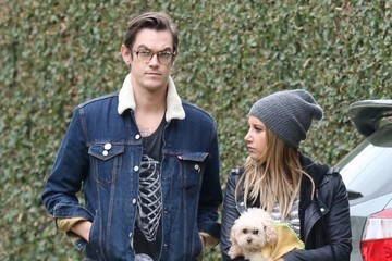 Ashley Tisdale Christopher French Ashley Tisdale & Husband Out For A Stroll