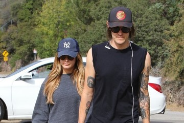 Ashley Tisdale Christopher French Ashley Tisdale Exercises at Runyon Cayon Park