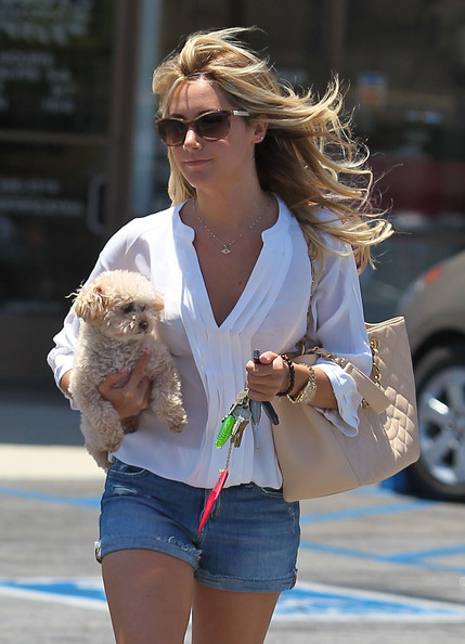 Ashley Tisdale Silver Chain