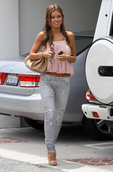 More Pics of Audrina Patridge Ripped Jeans (1 of 17) - Ripped Jeans Lookbook - StyleBistro