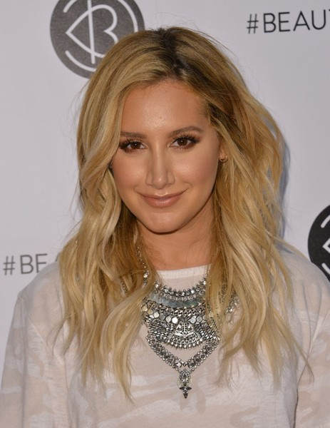 More Pics of Ashley Tisdale Long Wavy Cut (1 of 5) - Ashley Tisdale Lookbook - StyleBistro []