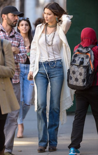Bella Hadid Bootcut Jeans