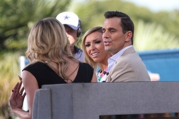 Bill Rancic Giuliana Rancic Giuliana Rancic Drops by 'Extra'