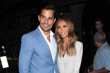 Bill Rancic Giuliana Rancic Celebrities Out For Dinner at Craig's