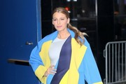 Blake Lively Evening Coat