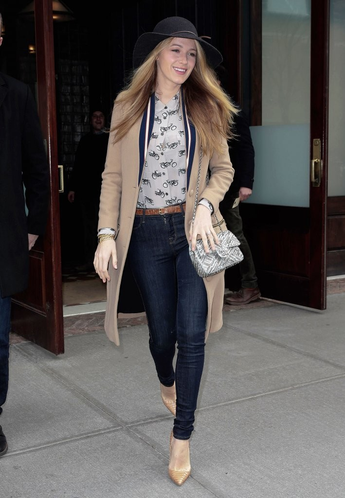 Blake Lively Skinny Jeans Blake Lively Clothes Looks