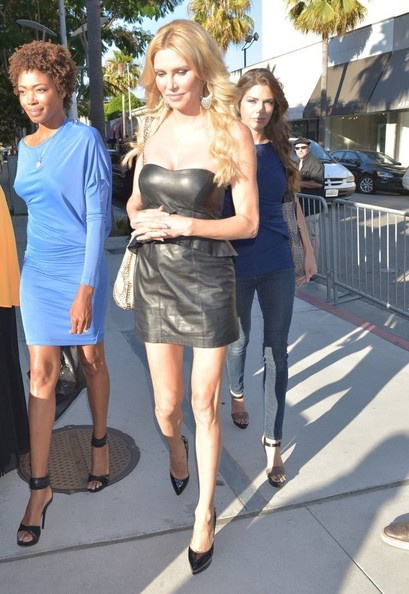 More Pics of Brandi Glanville Leather Dress (1 of 10) - Leather Dress Lookbook - StyleBistro