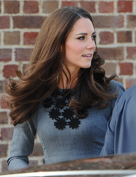 Kate Middleton's Wind Proof Locks