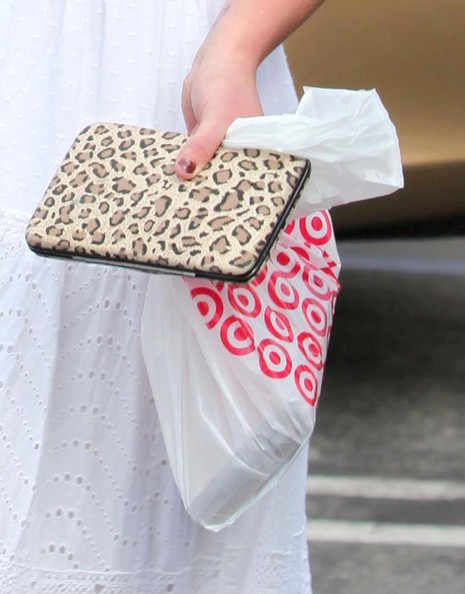Britney Spears Printed Clutch