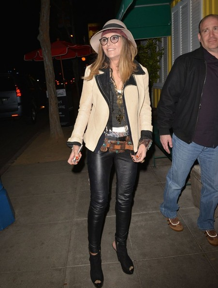 Brooke Mueller Leather Pants