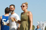 Busy Philipps Canvas Sneakers