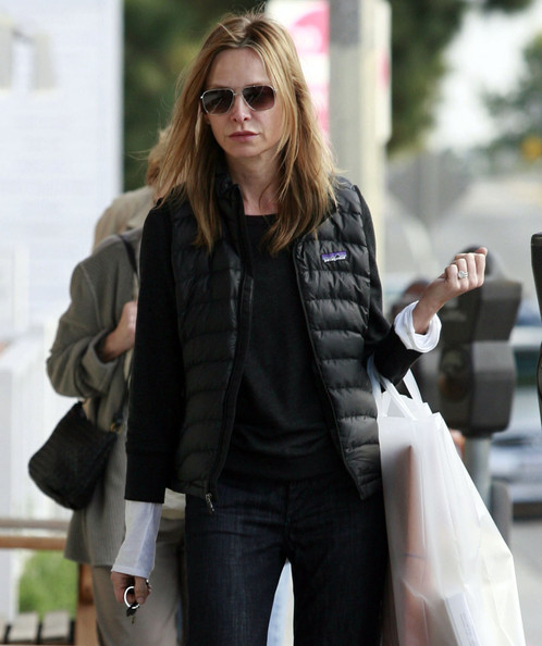 Calista Flockhart Clothes