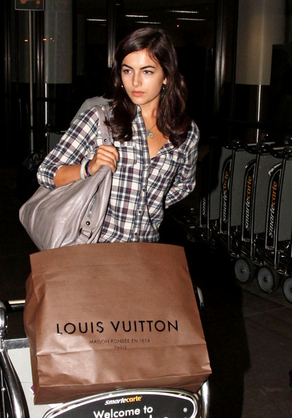 Camilla Belle Leather Shoulder Bag