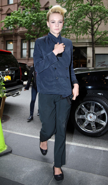 More Pics of Carey Mulligan Slip-Ons (1 of 1) - Slip-Ons Lookbook - StyleBistro