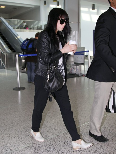 Carly Rae Jepsen in buttery soft leather.
