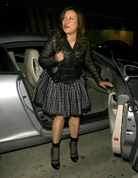 More Pics of Jennifer Tilly Blazer (1 of 7) - Jennifer Tilly Lookbook - StyleBistro