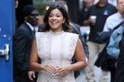Gina Rodriguez Strappy Sandals