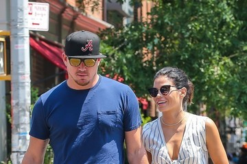 Channing Tatum Jenna Dewan-Tatum Channing Tatum and Jenna Dewan-Tatum Are Seen Out and About in NYC