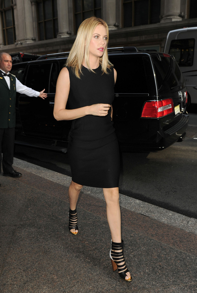 Charlize Theron Strappy Sandals Charlize Theron Shoes