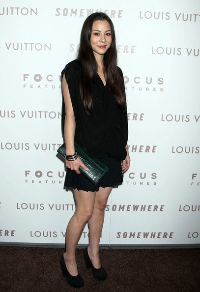 China Chow Leather Clutch