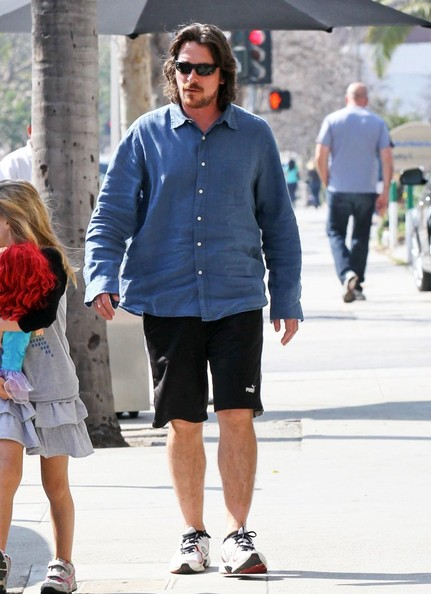 More Pics of Christian Bale Button Down Shirt (5 of 13) - Christian Bale Lookbook - StyleBistro